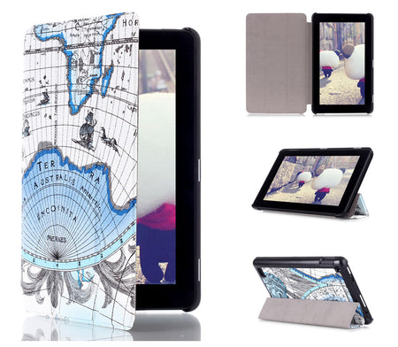 Fire Tablet 7 Map Case