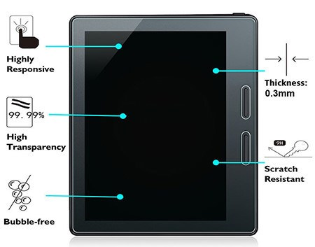 Pureglas Tempered Ultra-Clarity Screen Protector for Kindle Oasis