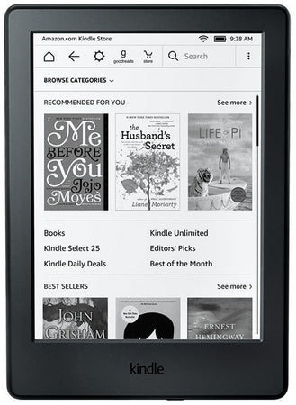 Kindle (8th Gen 2016) E-reader + Free Australian Accessories KIT