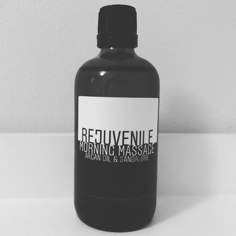 Rejuvenile™ Morning Massage: Organic Argan Oil & Sandalore
