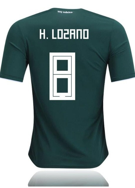 1988 Limited Edition Commemorative Mexico Soccer Retro Jerseys