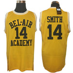 Will Smith #14 Bel Air Academy Stitched Basketball Jersey