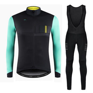 Winter Thermal Fleece Cycling Jersey