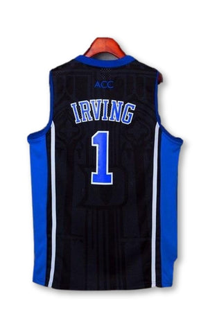 #1 Kyrie Irving Throwback Jersey Retro Embroidery Stitched