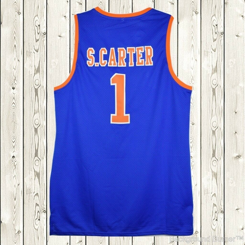 S.Carter New York #1 Roc-A-Fella Basketball Jersey