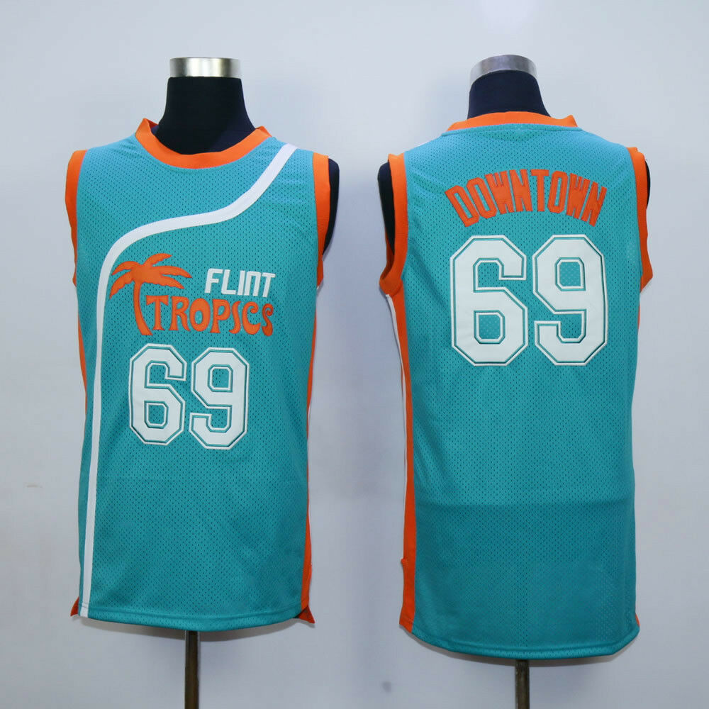 Flint Tropics Downtown #69 Basketball Jersey