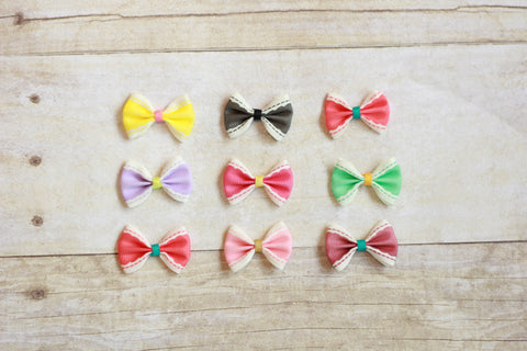 Vintage Ribbon Bows (pack of 3)