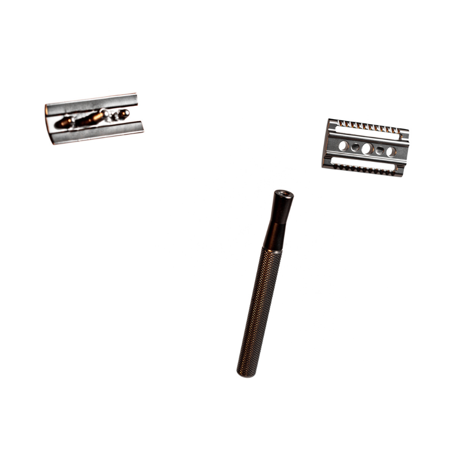 MATTE BLACK SAFETY RAZOR