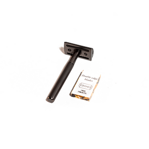 Load image into Gallery viewer, MATTE BLACK SAFETY RAZOR