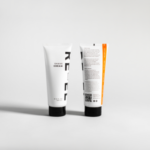 RE-EL Shave Cream front and back
