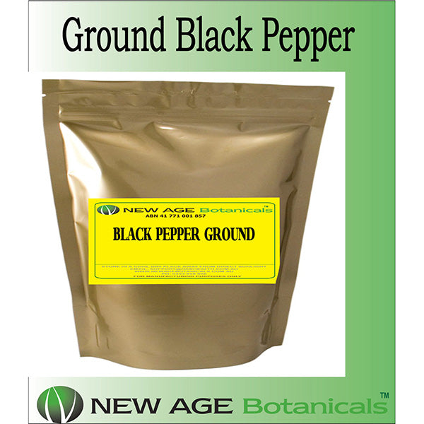 GROUND BLACK PEPPER - High Quality - Non GMO - 1KG