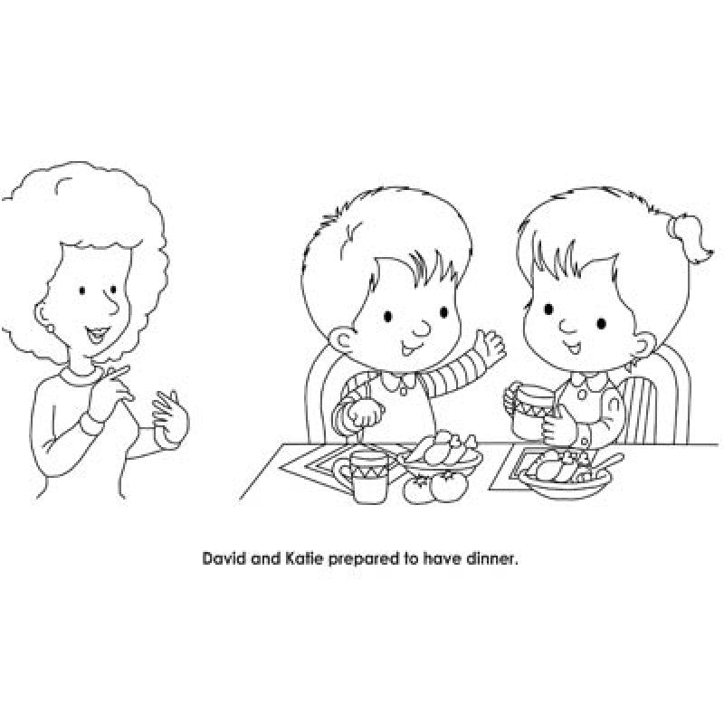 The Happy Hands coloring book