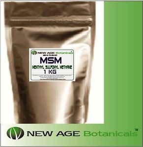 MSM - High Quality - 99.9% Pure - 2KG (1x2kg BAGS) - INTRO PRICE!!