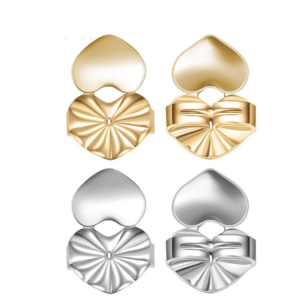 Magic Earring backs Lifters Gold Plated Earrings Ear Jewelry Accessories