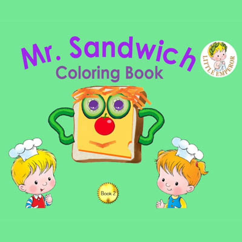The Mr Sandwich coloring book