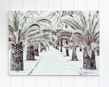 Load image into Gallery viewer, Canvas Print - Palm Tree Boulevard - 70 x 50