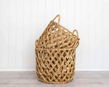 Load image into Gallery viewer, Basket Set - Neptune Natural - Water Hyacinth - Set 2