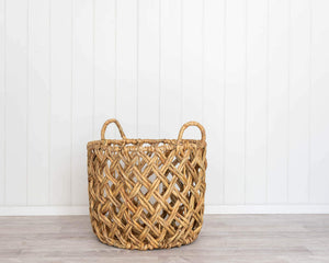 Basket Set - Neptune Natural - Water Hyacinth - Set 2