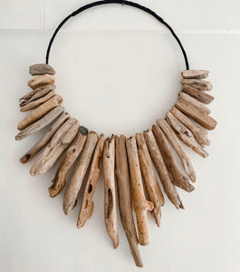 Driftwood Necklace Wall Art
