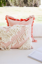 Load image into Gallery viewer, Langdon Ltd. - Tribe Rectangular Cushion Blush/White 40x80