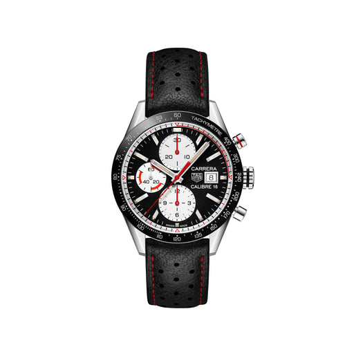 TAG HEUER CARRERA CALIBRE 16 41MM MENS WATCH - CV201AP.FC6429