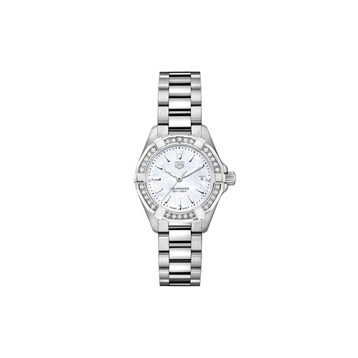 TAG HEUER AQUARACER 300M DIAMOND LADIES WATCH 27MM - WBD1413.BA0741