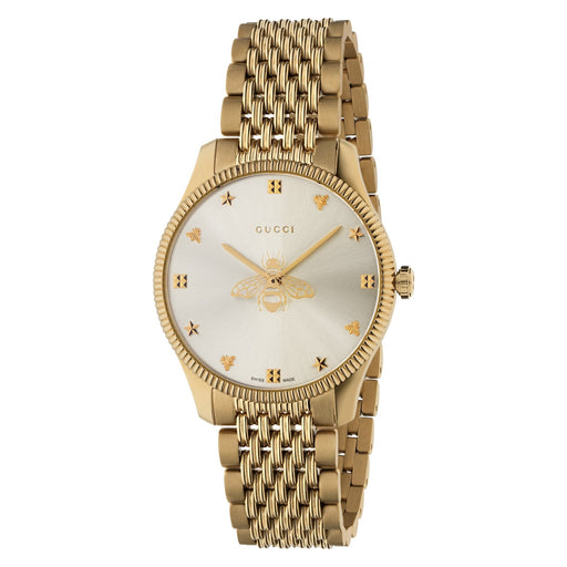 Gucci G-Timeless 36mm Slim Bee Ladies Watch YA1264155