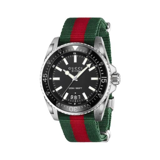 GUCCI DIVE 45MM MENS WATCH YA136206
