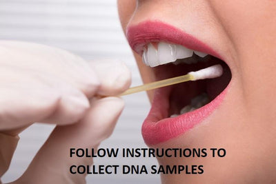 Sample collection for the Grandparent DNA Test