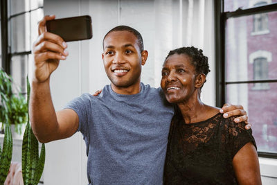 Grandparent DNA Test - Selfie