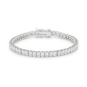Princess Cubic Zirconia Tennis Bracelet - Jewelry Xoxo
