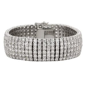 Cubic Zirconia Elegance Formal Bracelet - Jewelry Xoxo