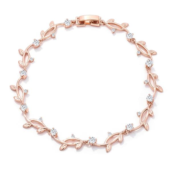 Rose Gold Vine Bracelet