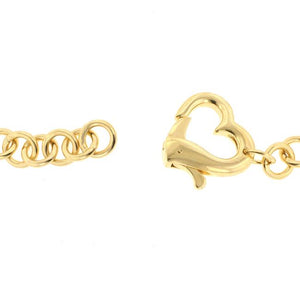 Golden Heart Bracelet - Jewelry Xoxo