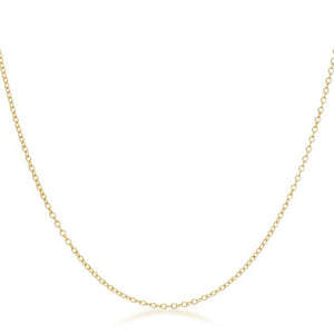 Delicate Gold Link Chain - Jewelry Xoxo