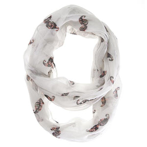 Forever White Infinity Scarf - Jewelry Xoxo