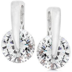Cubic Zirconia Elegance Earrings - Jewelry Xoxo