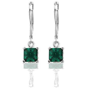 Forest Cubic Zirconia Drop Earrings - Jewelry Xoxo