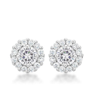 Bella Bridal Earrings in Clear - Jewelry Xoxo