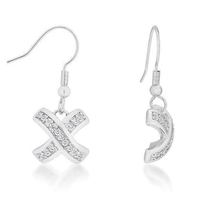 Timeless Pave Drop Earrings - Jewelry Xoxo