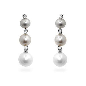 Multicolor Pearl Earrings - Jewelry Xoxo