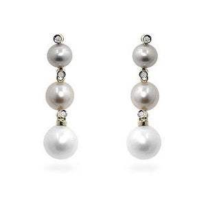 Multicolor Pearl Dangles - Jewelry Xoxo