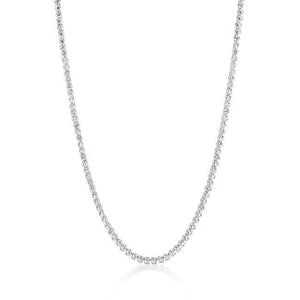 Long Elegant Cubic Zirconia Necklace - Jewelry Xoxo