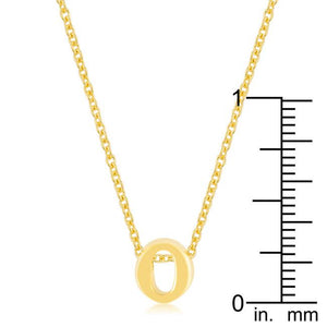 Golden Initial O Pendant - Jewelry Xoxo