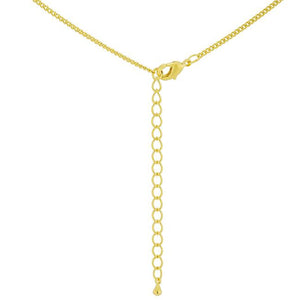 Simple Golden Cross Pendant - Jewelry Xoxo