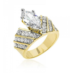 Venetian Crown Ring - Jewelry Xoxo