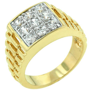 Red Carpet Mens Ring - Jewelry Xoxo