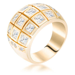 Square Cocktail Ring - Jewelry Xoxo
