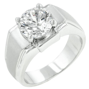 Regal Mens Cubic Zirconia Ring - Jewelry Xoxo