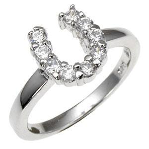 Cubic Zirconia Colt Ring - Jewelry Xoxo
